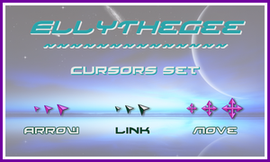 EllyTheGee Cursors by SpringsTS