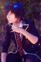 Ao no Exorcist cosplay by KaiJiGoku