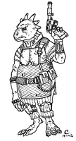 Star Wars - Lizzzard by Konquistador