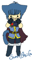 Chibi Neko Marth by SweetBeriiChu