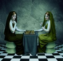 Chess Sisters by Rosie311