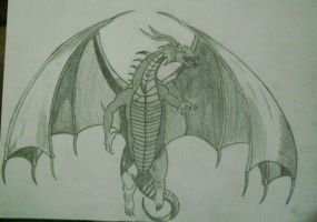 Onceuponatime I draw a dragon by eXticey
