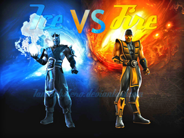 Ice VS Fire by IamSubZero
