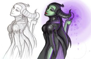 Maleficent by elmswood