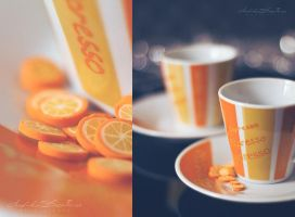 Orange coffee. by andokadesbois