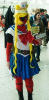MCM Expo May 2014 141 - Sailor Moon Deadpool by cosmicnut