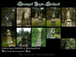 Graveyard Angels - Stockpack by Dragoroth-stock