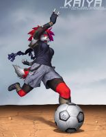 Not Quite World Cup: Kaiya by JayAxer