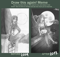 Draw this again Meme II by kochajikan