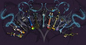 BBS Keyblade Pack [XPS] by LexaKiness