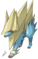 Mega Manectric by Tomycase