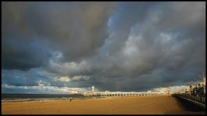 A Scheveningen winter beach by Esperimenti