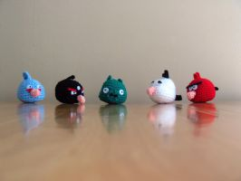 Angry Birds! by catnmaus