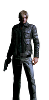 Leon - Resident Evil 6 - Professional Render by Allan-Valentine