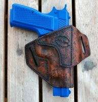 A.S. Browning Hi Power Holster by Obsidian-Sun