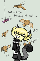 Kyo and the following of owls. by xTaionx