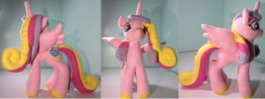 princess cadance plush by mylittlezombie