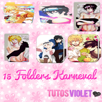 15 Karneval Folders by TutosViolet