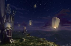lanterns by deadro