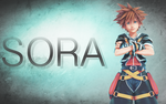 Sora wallpaper by Ceodorre