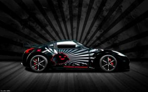 Nissan 350z Wallpaper by Sunde-dHk
