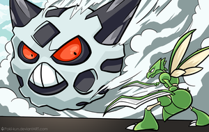 Attack on Glalie [Pokemon x Attack on Titan] by Pokii-kun