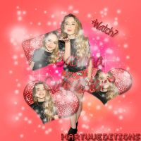 Blend Sabrina Carpenter by MartuuEdtions