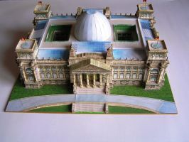 Reichstag 1:400 by LisciuPL