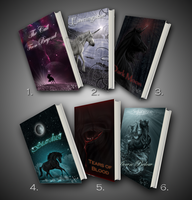 Book Covers by Jullelin
