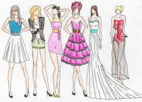 Project Runway S1P1 by cycheung