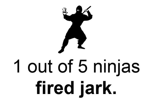 1 out of 5 ninjas by S-P-A-C-E