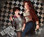 Resident Evil: Revelations 2 by Mafer