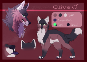 Reference Sheet: Clive by bakamiel