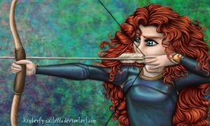 Disney: Merida from Brave by kimberly-castello