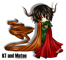 OC - KT and Mateo 2009 by torikat