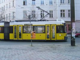 Berlin Tram Stock by prudentia