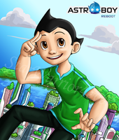 Astro Boy Reboot by Starwarrior4ever