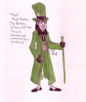 """""""The"""" Mad Hatter by Anicomicgeek"""