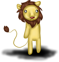 Ugly lion by Queenga
