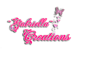REQUEST! for the Logo of ~Gabriella~ Creations by Sparklingbarbie