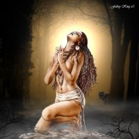 LUIS ROYO - PRAYER TO THE MOON by FABRYKING61