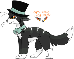 (CLOSED) DTA/WTA Evil Magician Adoptable by CatSplat