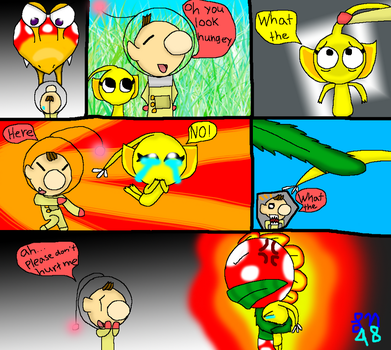 Pikmin comic by Luckynight48