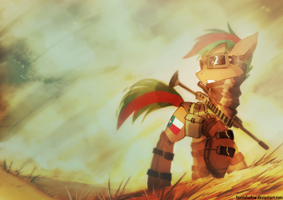 Sandstorm by FoxInShadow