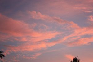Pink clouds by VacantHaze