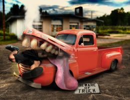 Beware of Truck by bruno-sousa
