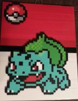 Bulbasaur Print by DuctileCreations