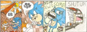 Awseome Sonic Comic EVER by CrazyCrumbCake