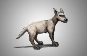 Dog Drawing by Xiox231