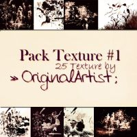 Pack Texture #1 by scricciolartist